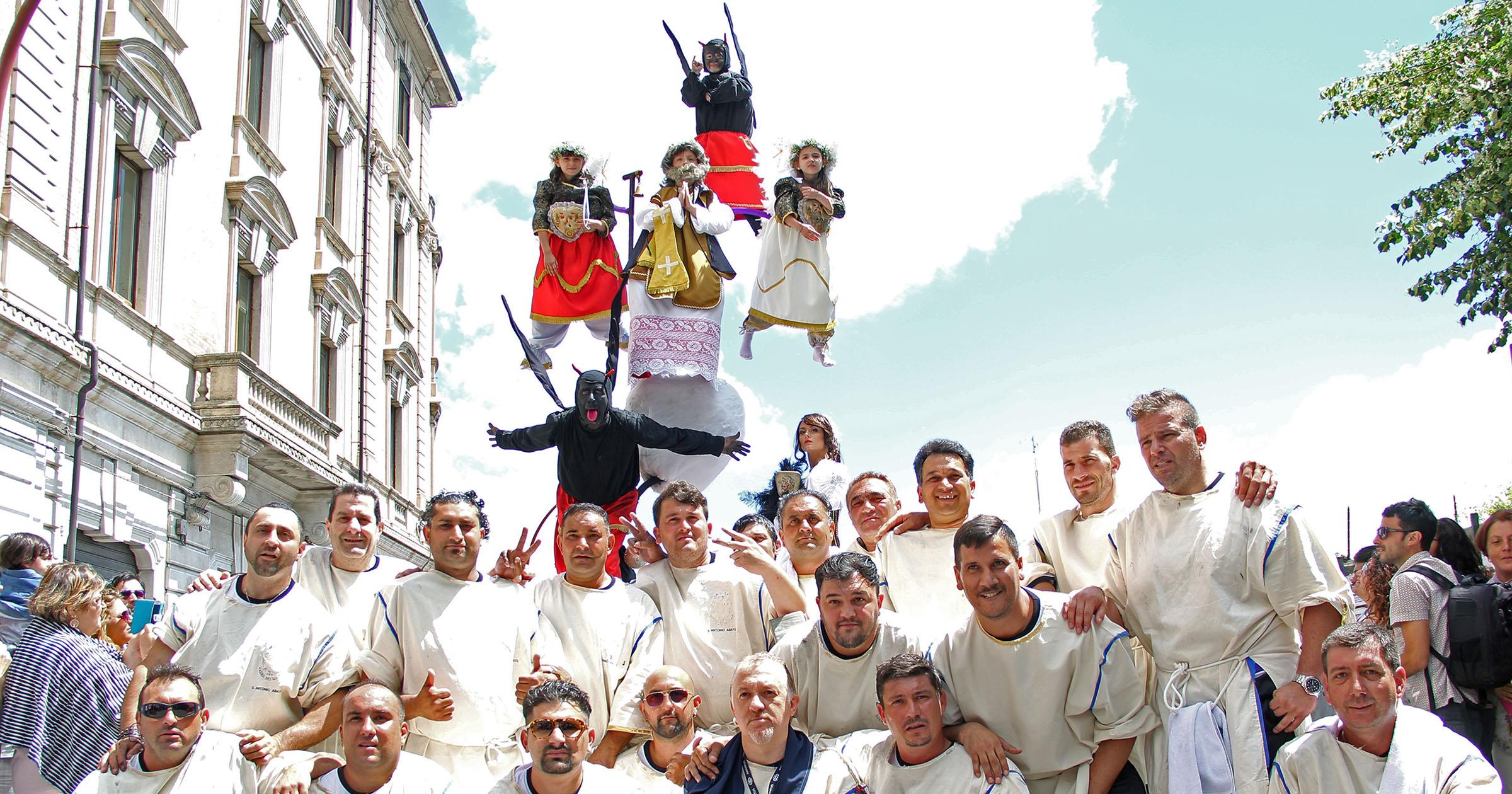 Corpus Domini a Campobasso, processione dei Misteri