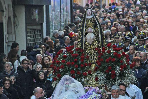 Venerdì Santo a Campobasso: la processione e il Teco vorrei